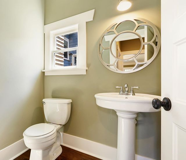 A Little Design Magic Can Make Even The Tiniest Bathroom Feel Spacious Read Our Tips For Making Small Bathrooms Look And Feel In 2020 Small Bathroom Inspiration Add A Bathroom Bathroom Plumbing