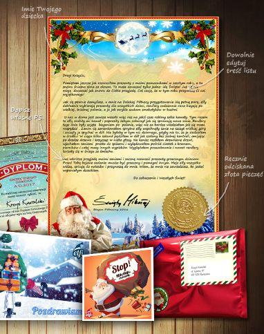 List od Mikołaja  http://kodyrabatowe.eu/list-od-mikolaja/  Każdy chce taki, co nie? I każdy może mieć :)