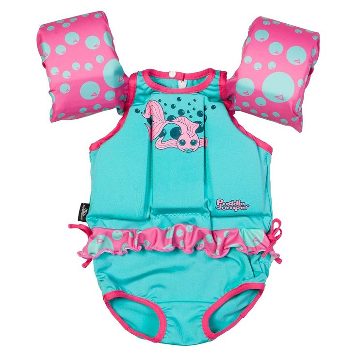 Stearns� Puddle Jumper Suit - Girls Fish