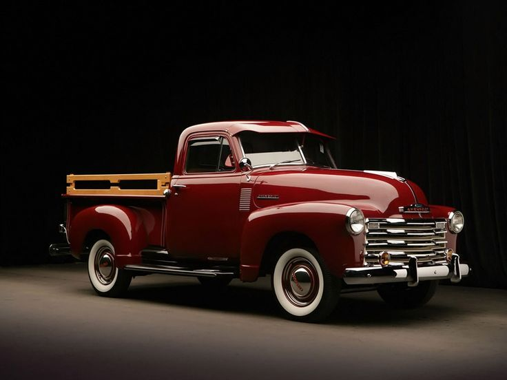 Chevrolet 3100 Pickup, 1951.                                                                                                                                                     Mais