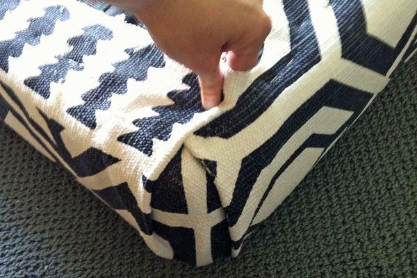 Upholstering corners