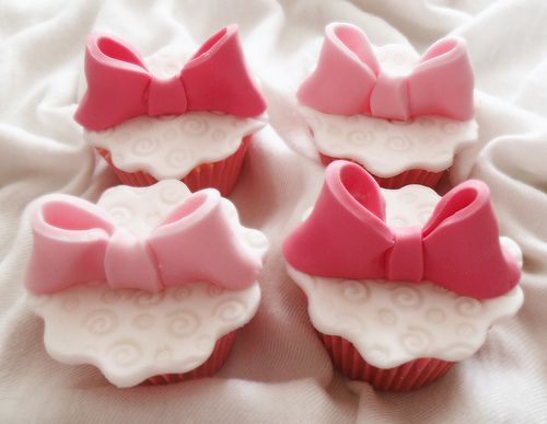 pink bow cupcakes: Baby Shower Desserts, Decor Cupcakes, Baby Shower Cupcakes, Bows Ties, Baby Shower Ideas, Pink Bows, Girls Baby Shower, Cupcakes Towers, Bows Cupcakes