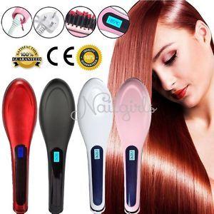 LCD-Ion-Peigne-Brosse-a-Cheveux-Fer-a-Lisser-Lisseur-Massager-Hair-Straightener