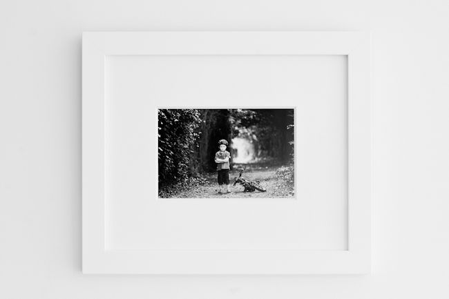 Products: Contemporary black and white single wood frames, and mount options « Anna McCarthy Photography