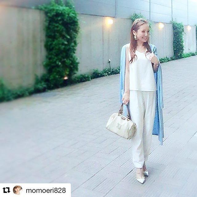 #Repost @momoeri828 (via @repostapp) ・・・ 今日も 楽ちんセットアップだよ コーデの詳細は 画面タッチで リンクをはりました☝ @rocotta_official  #rocotta #moery #fashion #ootd #setup #love #happy #happiness #コーデ #セットアップ #loewe #valentino #casualstyle #instagood #instadaily #instafashion