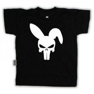 T-shirt enfant original imprimé : CRANE LAPIN
