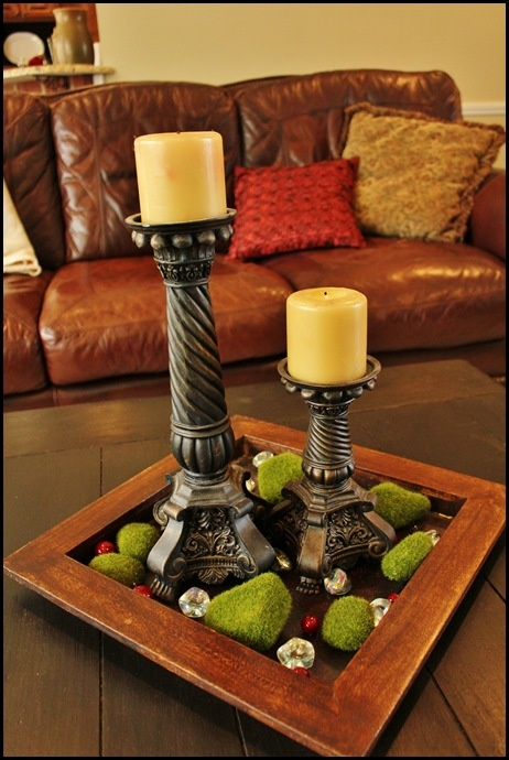 11 best images about coffee table centerpieces on pinterest ceramics mantels and shabby chic Coffee table centerpiece