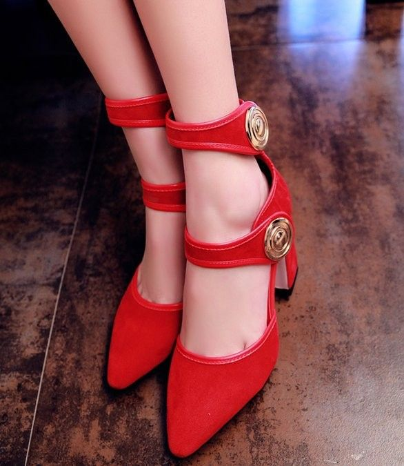 women real genuine leather stiletto pointed toe square high heel sandals