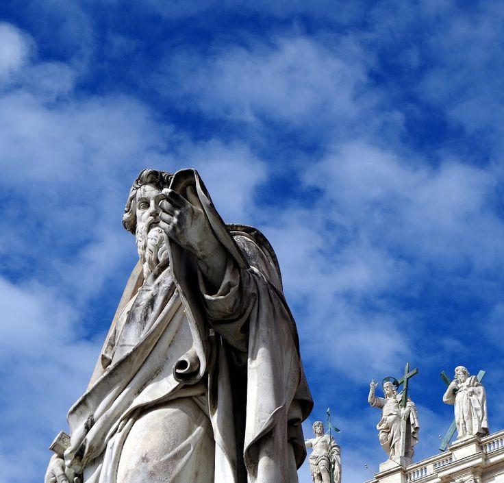 Ein Fingerzeig des Himmels ;-) - Petersdom, Rom