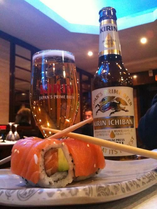 Rien de tel qu'une petite Kirin avec des sushis! par bartom34 - Mardi 20 novembre #beertime
