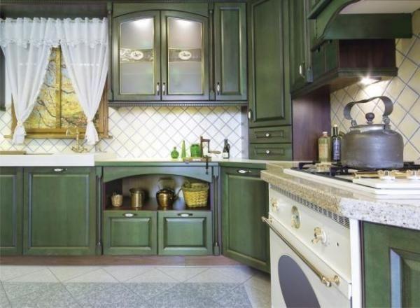 Деревенский стиль в загородном или частном доме будет особо уместным