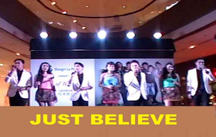 "THE RYAN CAYABYAB SINGERS (RCS7) - ""Just Believe"""