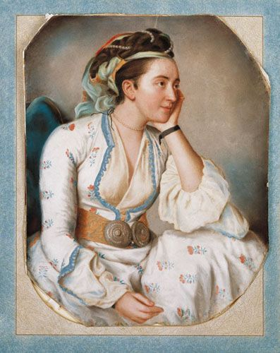 1750 Turkish woman