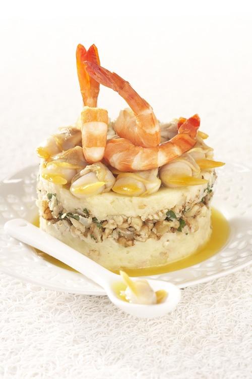 Ratte du Touquet aux crevettes et éclats de noix    http://www.larattedutouquet.com/ratte-du-touquet-aux-crevettes-et-eclats-de-noix-2/