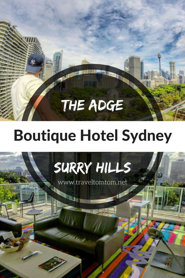 Check out their great boutique hotels in Sydney, great location, chic and modern interior and excellent views over the city!