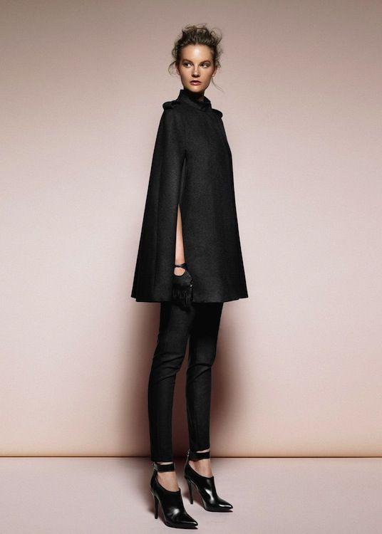 Slimmed cape~ Skinnies~Shooties=SeXXY Black2Basics!!!