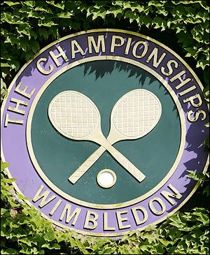 With Wimbledon starting today we thought this sign to be rather relevant!