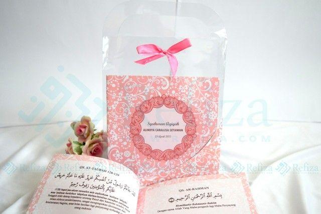 Buku Aqiqah Paket 1 dengan halaman full color. Siap menemani acara spesial anda.