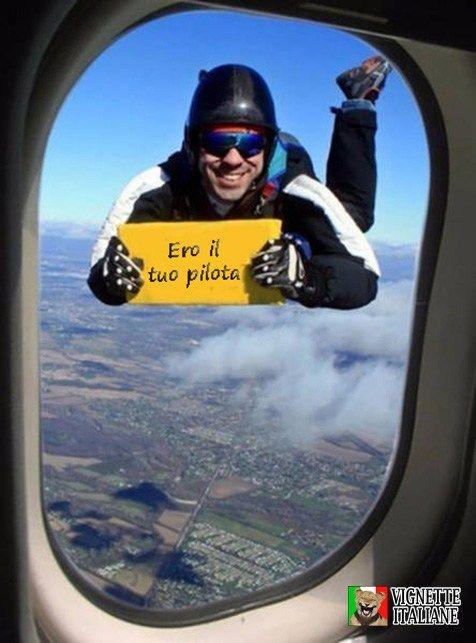 Ero il tuo pilota
