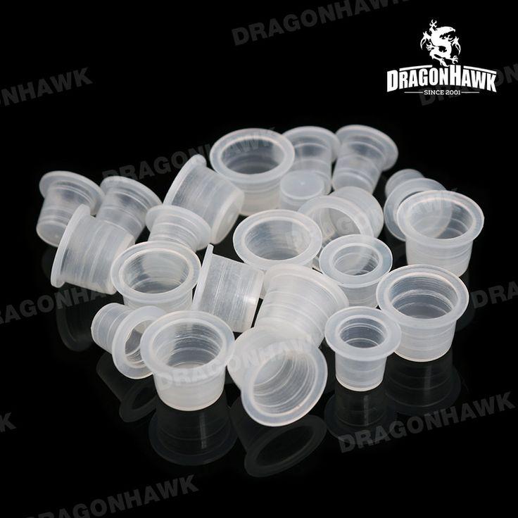 100pcs Tattoo Supplies Plastic Ink Cups Pigment Cap Medium&Small [WS044(01500304 air)] - US$4.50 : Dragonhawk tattoo supplies, tattoo kits,tattoo machines for sale global form tattoodiy.com