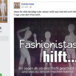 Sie teilen öffentlich Fotos von Kindern und wollen nur abschrecken. Die Aktivisten von der Facebook-Seite Fashionistas.   Sehr interessantes Interview.