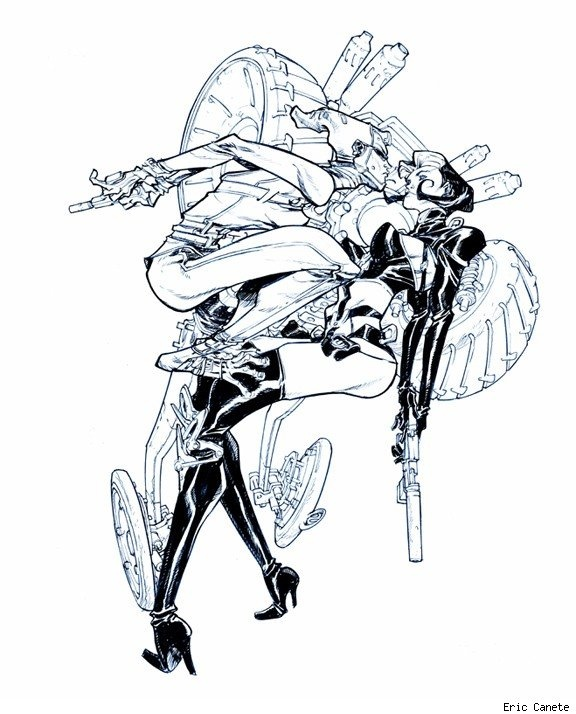 Aeon Flux by Eric Canete