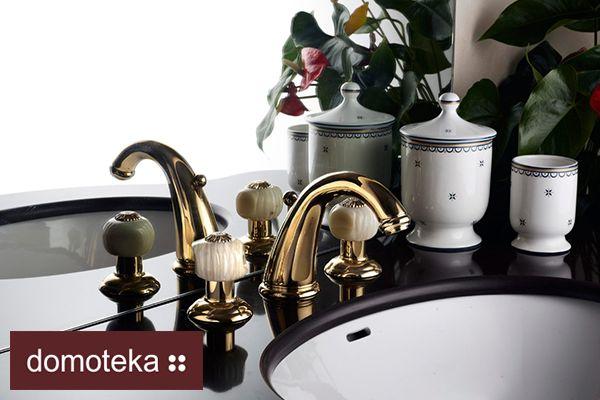 Szukasz czegoś ekskluzywnego do łazienki? Czegoś, co będziesz mógł podziwiać za każdym razem podczas mycia rąk?  W takim razie te baterie łazienkowe są dla Ciebie.  Potrzebujesz czegoś więcej? To pora na wizytę w salonie Aleotti w Domotece.