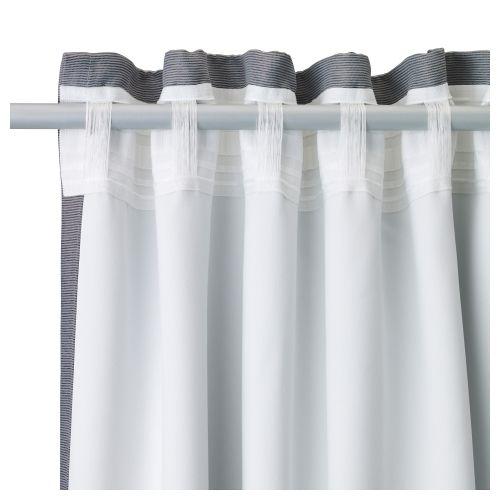MARJUN cortinas opacas, 1 par