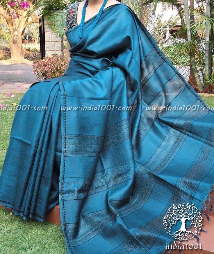 Elegant Fine Kosa Silk Saree