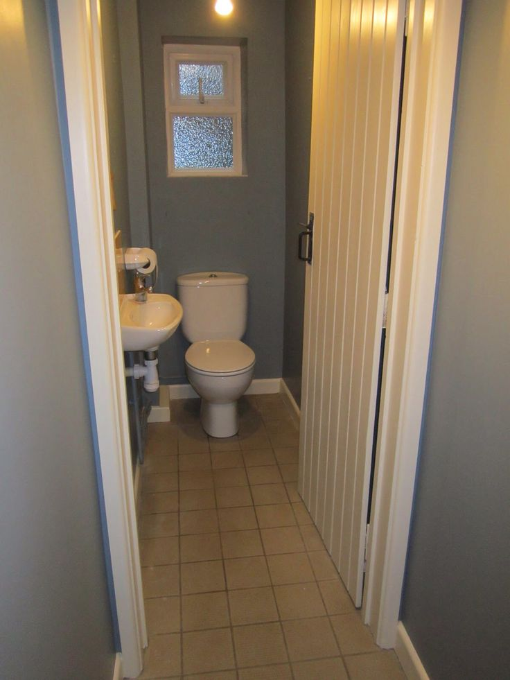 7 best cloakroom images on pinterest small bathrooms for Super tiny bathroom ideas