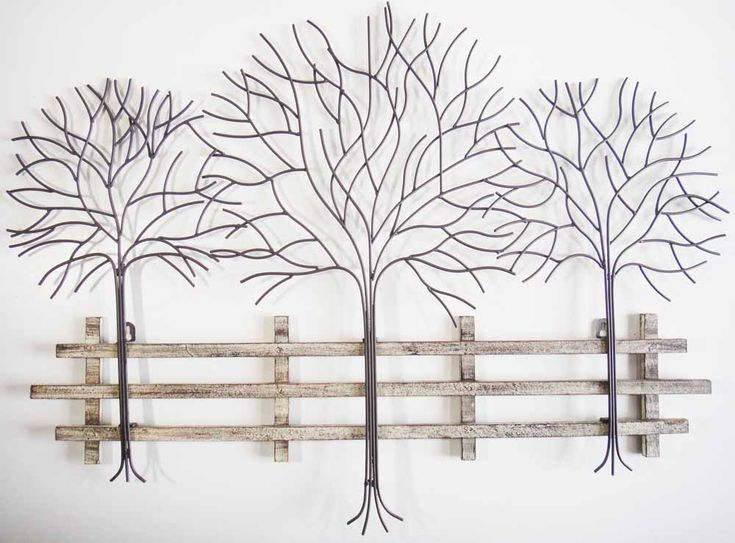 Woodland Metal Wall Art