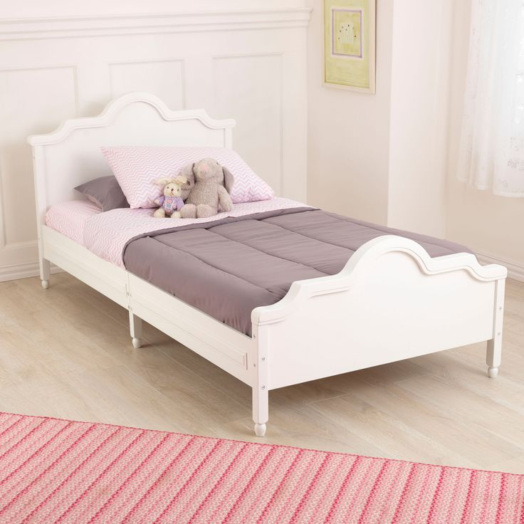 When your kids get too old to use a toddler bed, it's time for a serious upgrade. That's where our beautiful Raleigh Twin Bed comes in. This sturdy furniture pi