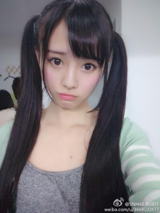 SNH48 鞠婧禕(キクちゃん)sexy画像