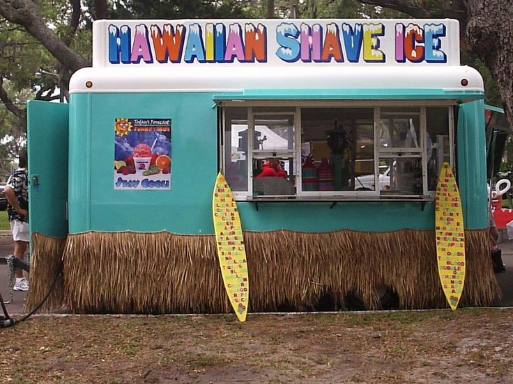 Hawaiian shave ice... Soooooo good! Much smoother and better than snow cones!