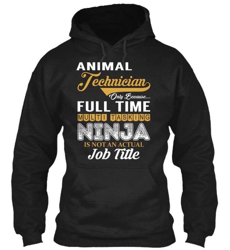 Animal Technician - NINJA #AnimalTechnician