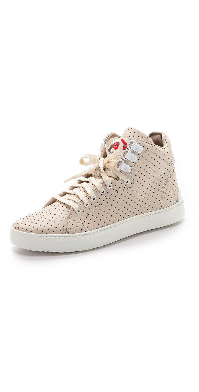 Kent Perforated High Top Sneaker