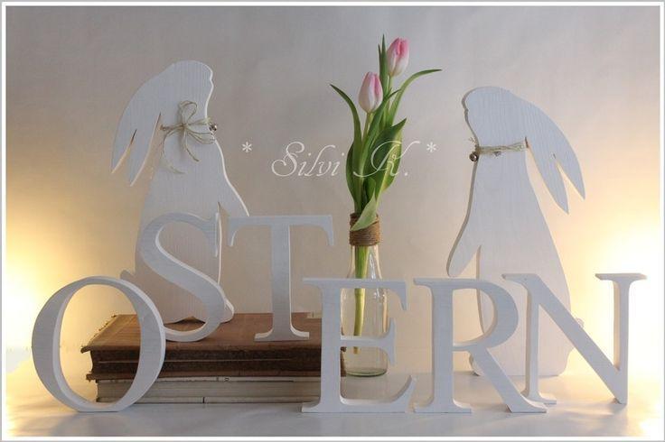 OSTERN 10€ pro Buchstabe L:90cm von Silvi K. auf DaWanda.com – #auf #Buchstabe…