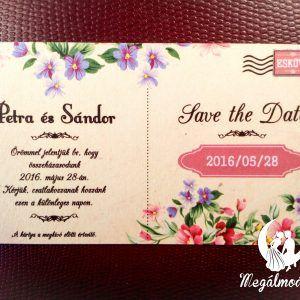 Save the Date kártya  #esküvő #savethedate #papír #kártya #egyedi #wedding #paper #unique #postcard