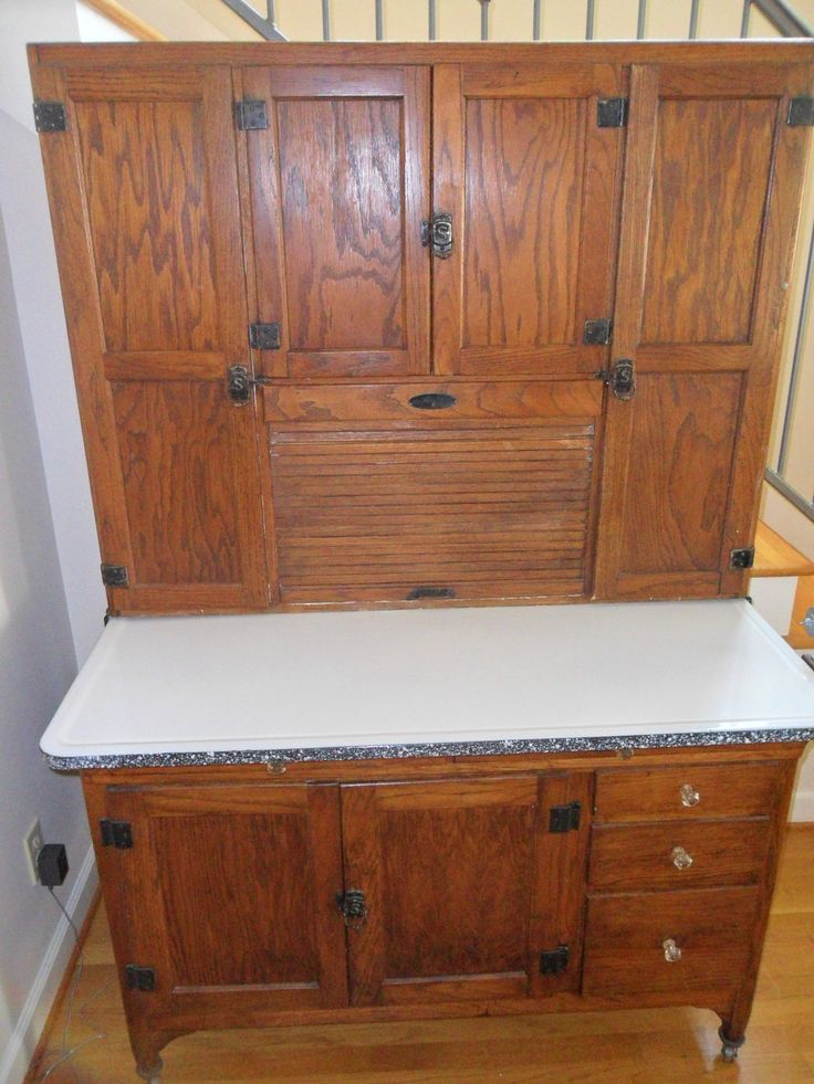 Antique bakers cabinet sellers bakers cabinet for Upper cabinets for sale
