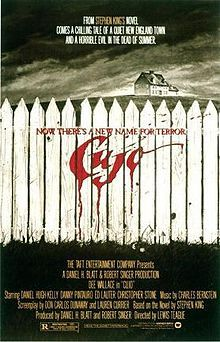 8/12/1983 - Cujo (based on the novel from 1981) starring Dee Wallace, Danny Pintauro, Daniel Hugh-Kelly, Christopher Stone & Ed Lauter.