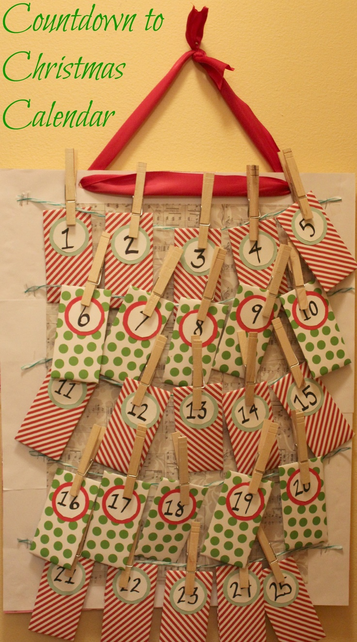 389 best christmas advent calendars images on pinterest - Pinterest advent ...