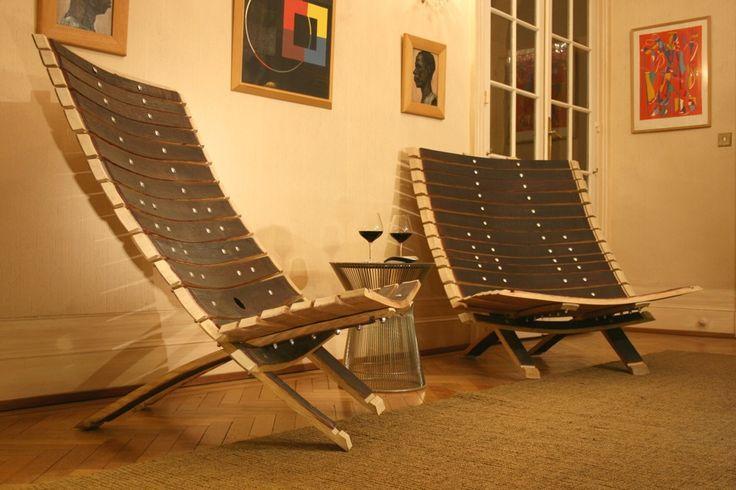 maydouelle dantoine si ge cr partir de barriques de grands crus meuble pinterest. Black Bedroom Furniture Sets. Home Design Ideas