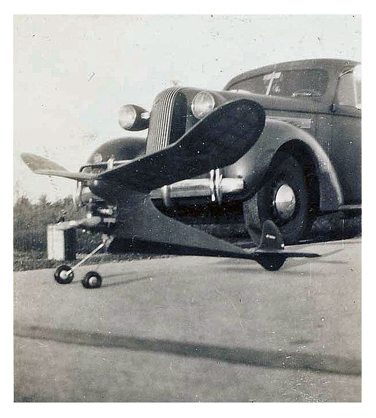 Model Airplane Contest Late 1940's Early 50's