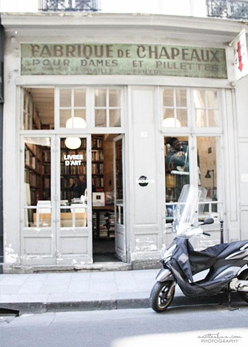 Fabrique de Chapeaux, Paris.