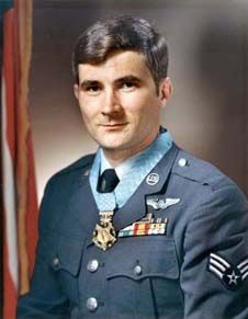 One of the six enlisted Medal of Honor Recipient, John Levitow
