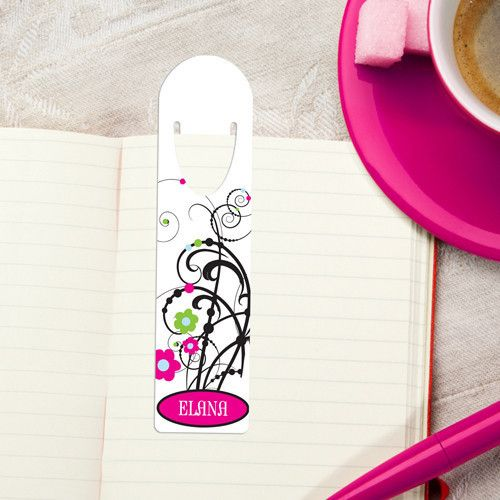 Personalized Bookmark - Design 6