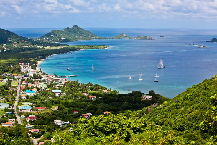 Carriacou:  One of the largest islands in the Grenadines, the island is 13 square miles where residents livelihood revolves around fishing and boat building.  The main town and port of Hillsborough welcomes you with local shops and dining.