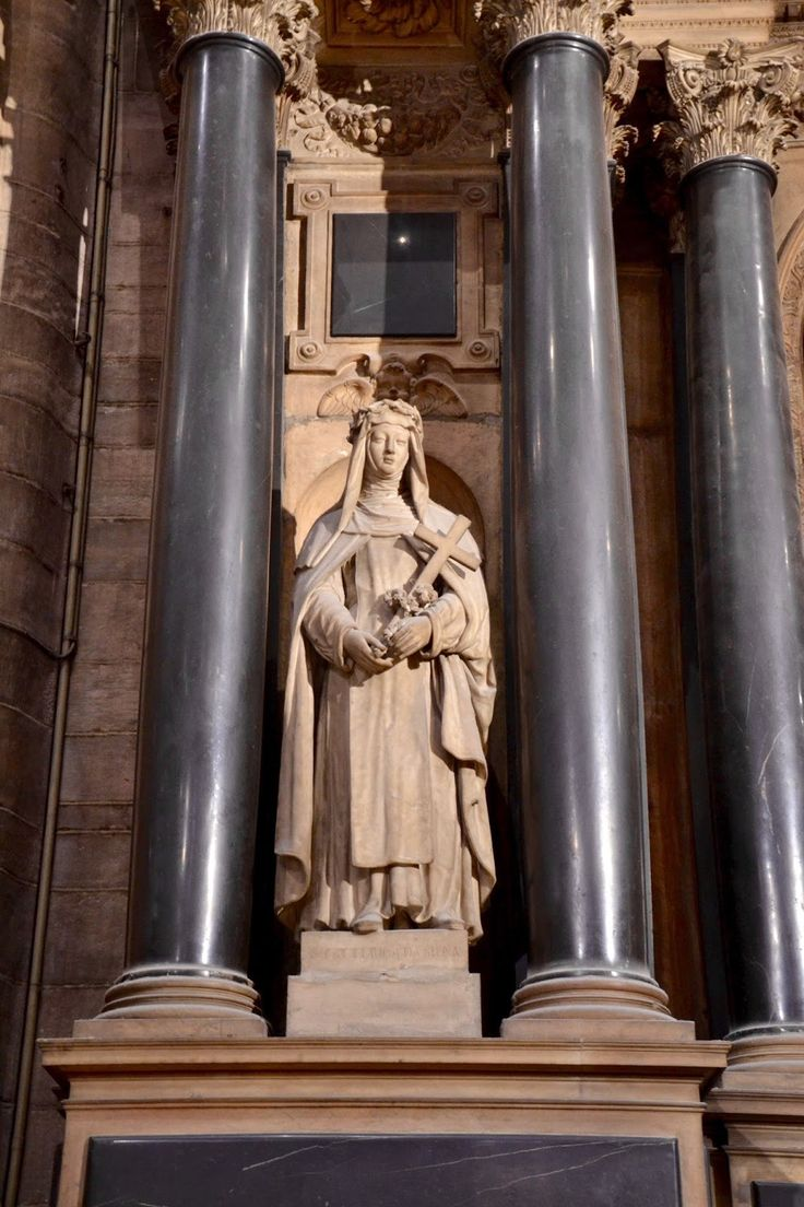 One of the many Statues in the Duomo, Milan, Italy by The Art of Creativity Studio