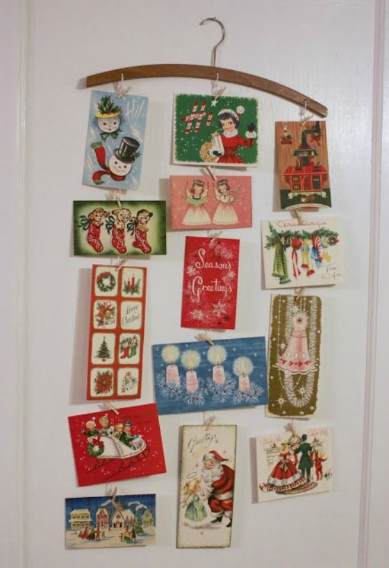 Best 25+ Christmas card display ideas on Pinterest | Christmas ...