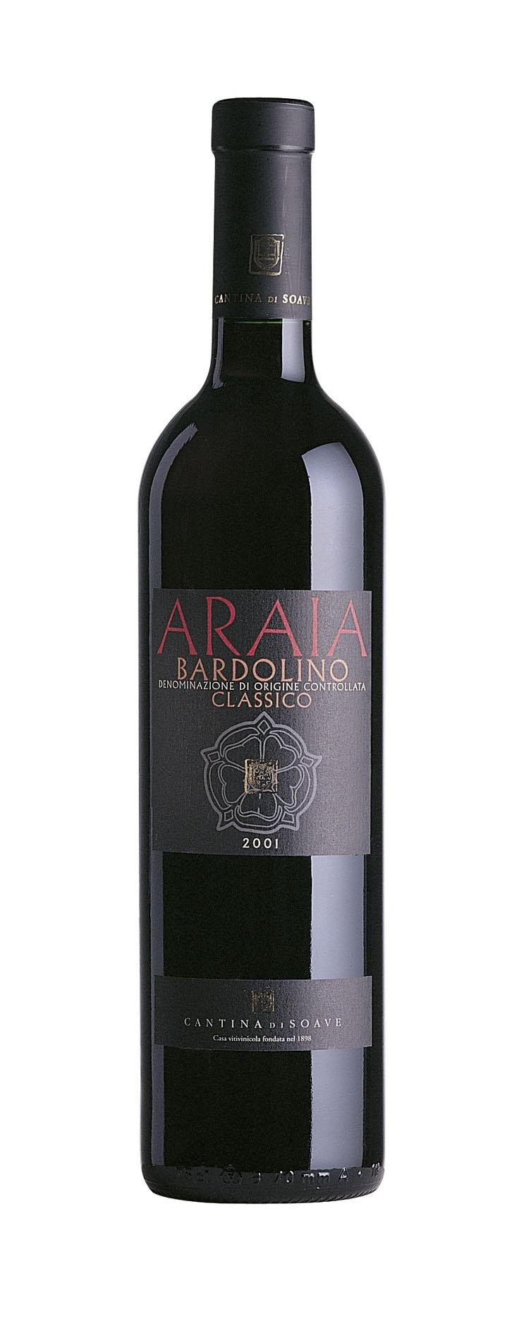 Araia - wine label for Auchan